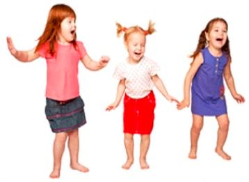 Tancujúce deti